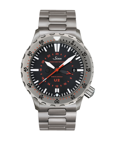 Sinn - U2 (EZM 5) - Bracelet option - 1020.010