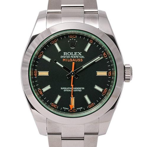 Rolex Milgauss Black Dial 40mm Oystersteel Bracelet Automatic Watch