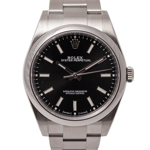 Rolex Oyster Perpetual 39mm Oyster Strap Automatic Waterproof Watch