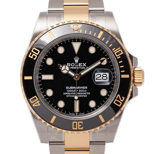 Rolex 2 colour sub