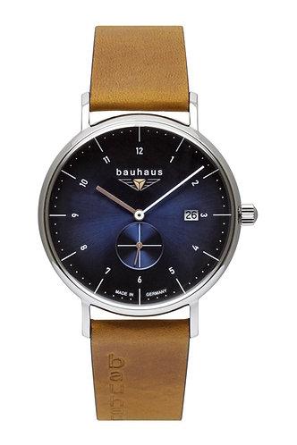 Bauhaus 21303 Mens 41mm Blue Dial Quartz Watch