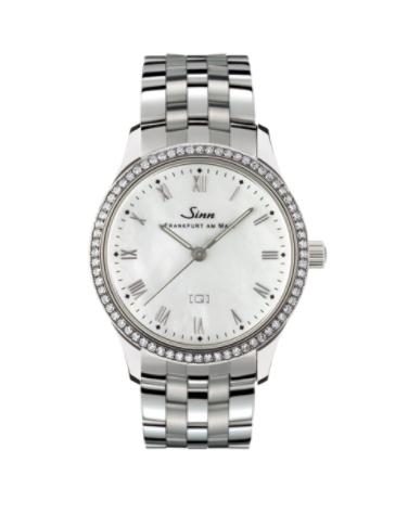 Sinn - 434 TW68 WG Mother of Pearl W - Bracelet Options - 434.031