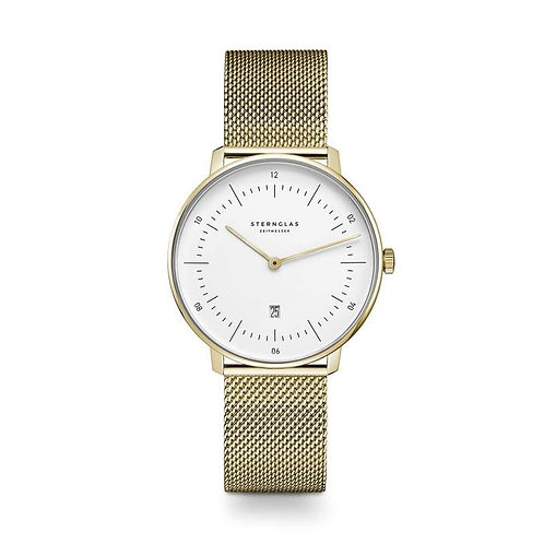 Sternglas Naos XS ladies gold colour watch