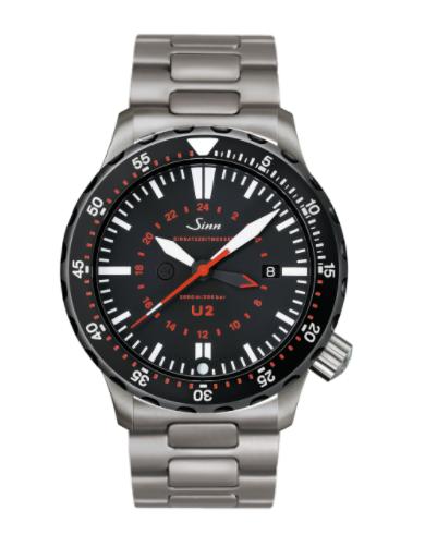 Sinn - U2 SDR (EZM 5) with Tegiment option - Bracelet option - 1020.050