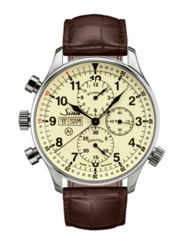 Sinn - 917  - Brown Leather Strap options - 917.011