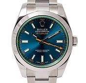 Rolex Milgauss 40mm Blue Dial Oyster Bra