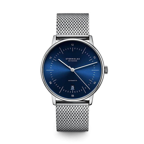 Sternglas Naos Blue Dial automatic watch