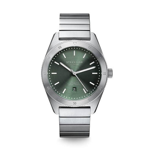 Sternglas Marus green dial divers watch