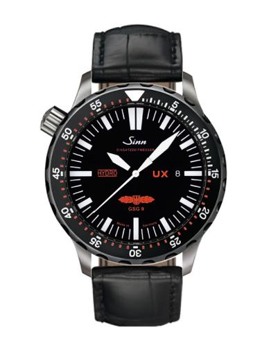 Sinn - UX SDR GSG 9 (EZM 2B) Tegiment - Black Leather Strap options  403.081