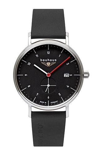 Bauhaus 21302 Quartz Black Dial 41mm Mens Watch