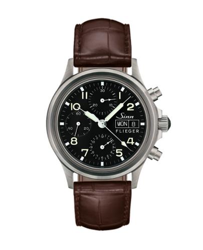 Sinn - 356 Sa Pilot - Brown Leather Strap option - 356.070