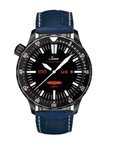 Sinn - UX S GSG 9 (EZM 2B) - Misc Leather Strap options  403.062
