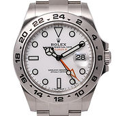 Rolex Explorer II 42mm White Dial Oyster