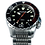 Pantor seahorse black automatic divers watch