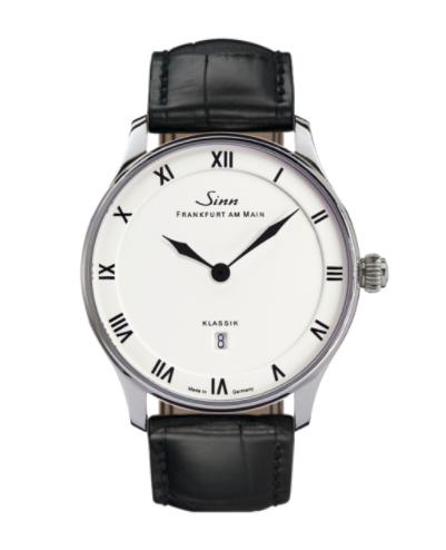 Sinn - 1746 Classic - Black Leather Strap Options - 1746.011
