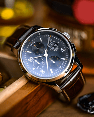 Mühle Glashütte Classic watch