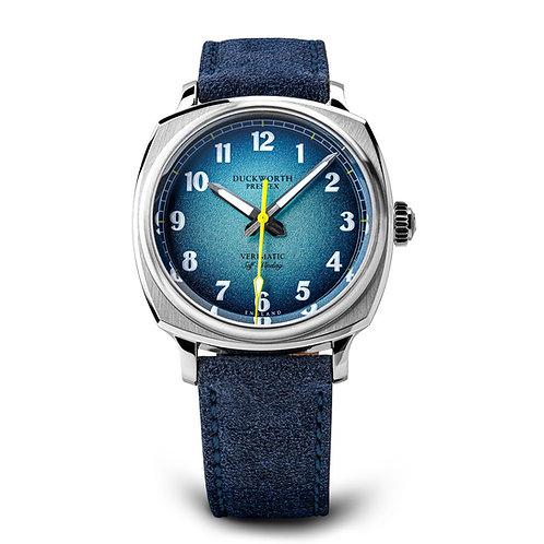 Duckworth Prestex Verimatic Blue Automatic Watch