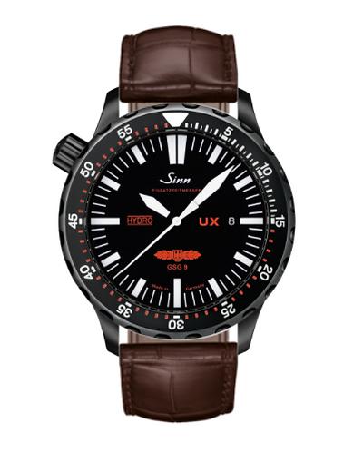 Sinn - UX S GSG 9 (EZM 2B) - Brown Leather Strap options  403.062