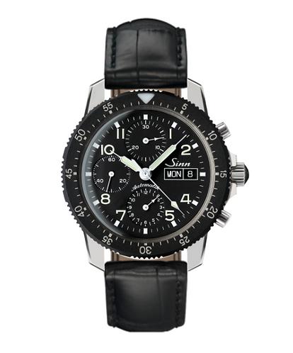Sinn - 103 St - Black leather strap options - 103.031