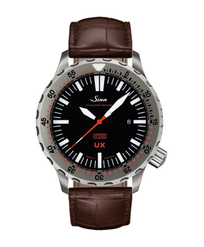 Sinn - UX (EZM 2B) with Tegiment - Brown Leather Strap options - 403.040