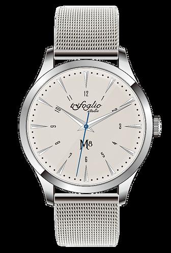 Trifoglio Italia M8 seiko quartz movement sweep seconds hand