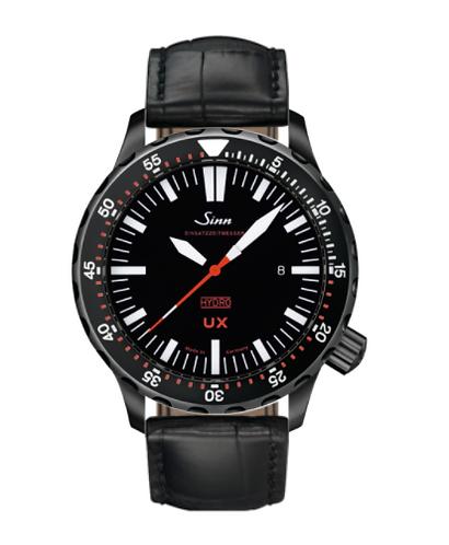 Sinn - UX S (EZM 2B) - Black Leather Strap options  403.060