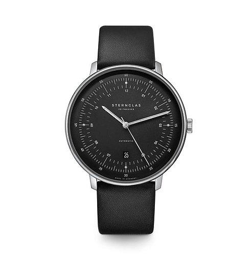 Sternglas Hamburg automatic graphite dial watch