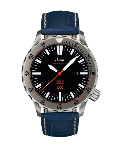Sinn - UX (EZM 2B) with Tegiment - Misc Leather Strap options - 403.040