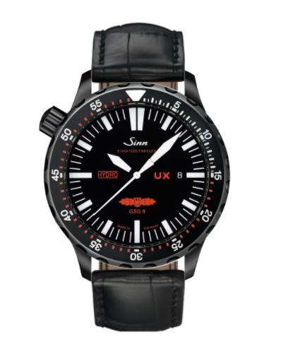 Sinn - UX S GSG 9 (EZM 2B) - Black Leather Strap options  403.062