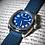 Gruppo Gamma Venturo Field Watch blue dial watch