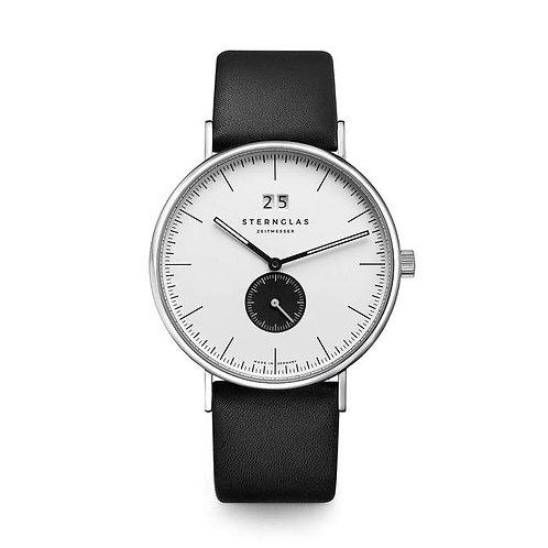Sternglas IVO white dial quartz watch