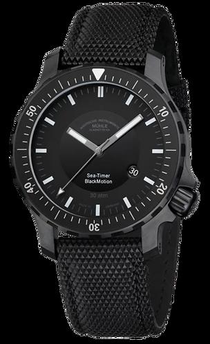 Muhle Glashutte Sea-Timer Blackmotion