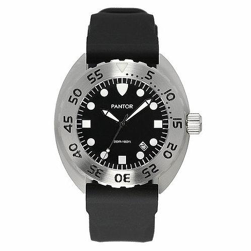 Pantor nautilus quartz steel turtle divers watch