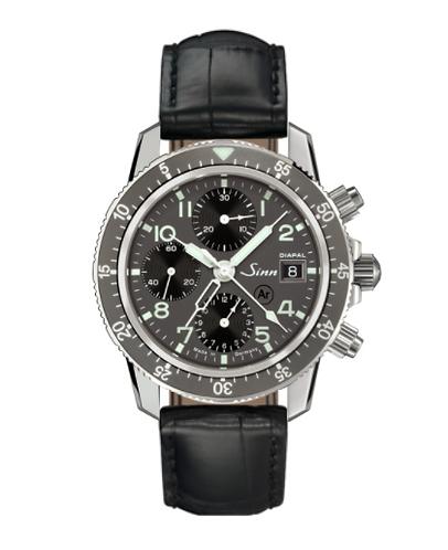 Sinn 103 St Diapal Black Leather Strap 41mm Mens Wristwatch
