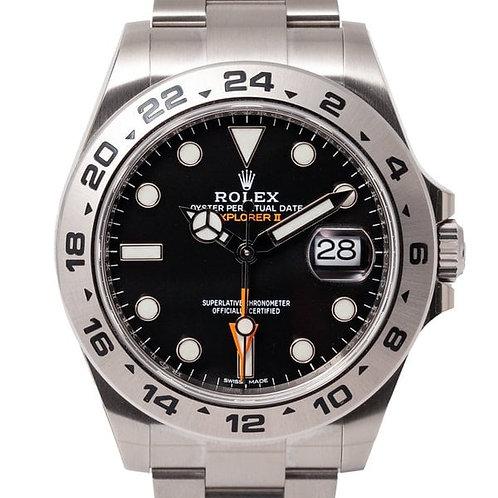 Rolex Explorer II 42mm Black Dial Automatic Watch