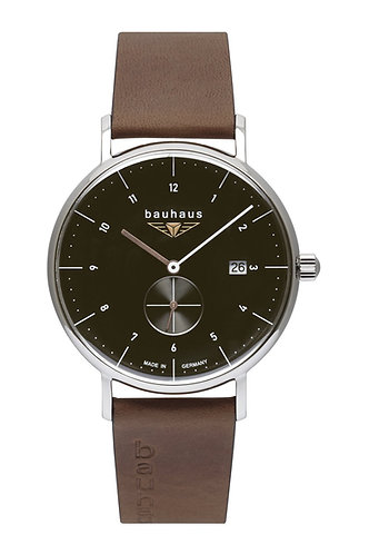 Bauhaus 21322 41mm Mens Black Dial Quartz Watch