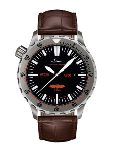 Sinn - UX GSG 9 (EZM 2B) - Brown Leather Strap Options - 403.031