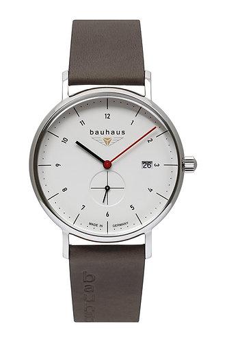 Bauhaus 21301 Quartz 41mm White Dial Mens Watch