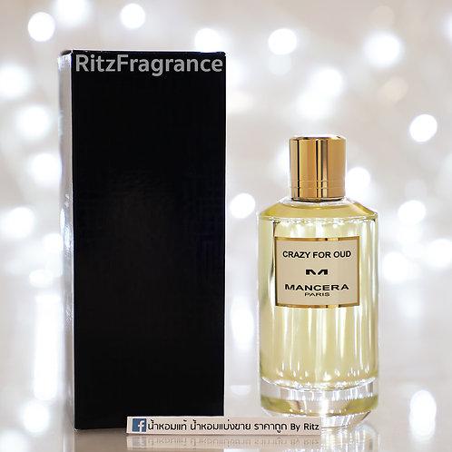 [แบ่งขาย] Mancera : Crazy For Oud Eau de Parfum