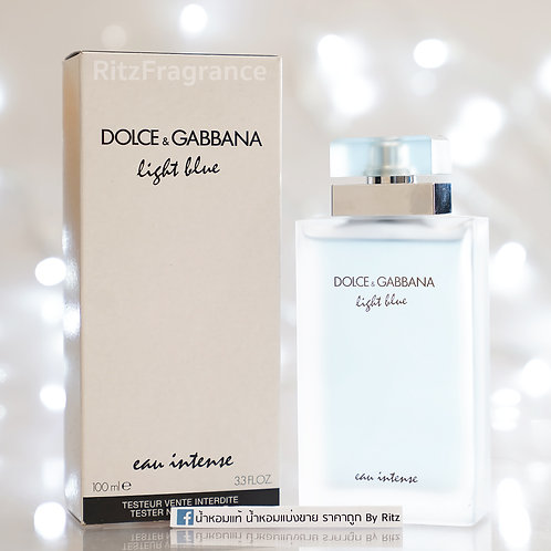 [Tester] Dolce&Gabbana :  Light Blue Eau intense 100ml