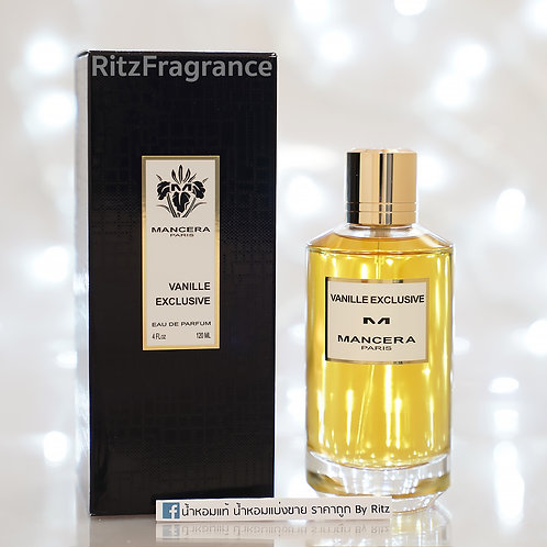 Mancera : Vanille Exclusive Eau de Parfum 120ml