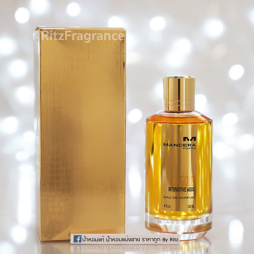 [Tester] Mancera : Gold Intensitive Aoud Eau de Parfum 120ml (With Box)
