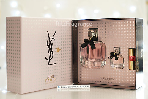 Yves Saint Laurent : Mon Paris Eau de Parfum 90ml (Box Set)