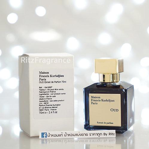 [Tester] Maison Francis Kurkdjian : OUD Extrait de Parfum 70ml