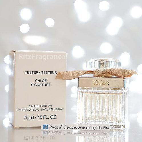 [Tester] Chloe : Signature Eau De Parfum 75ml