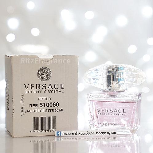 [Tester] Versace : Bright Crystal Eau De Toilette 90ml (With Box)