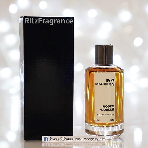 [Tester] Mancera : Roses Vanille Eau de Parfum 120ml (With Box)