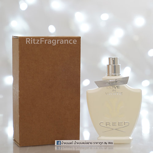 [Tester] Creed : Love in White Eau de Parfum 75ml (With Box)