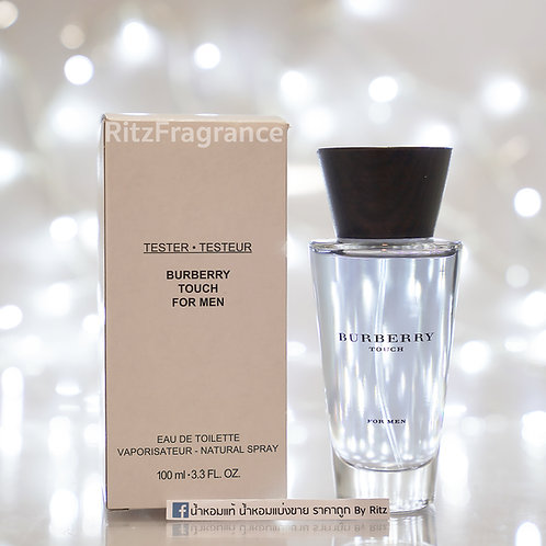 [Tester] Burberry : Touch For Men Eau de Toilette 100ml
