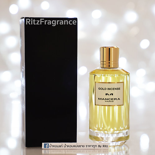 [Tester] Mancera : Gold Incense Eau de Parfum 120ml (With Box)